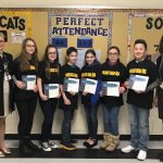 Western Wayne Middle School Students of the Month for November and December