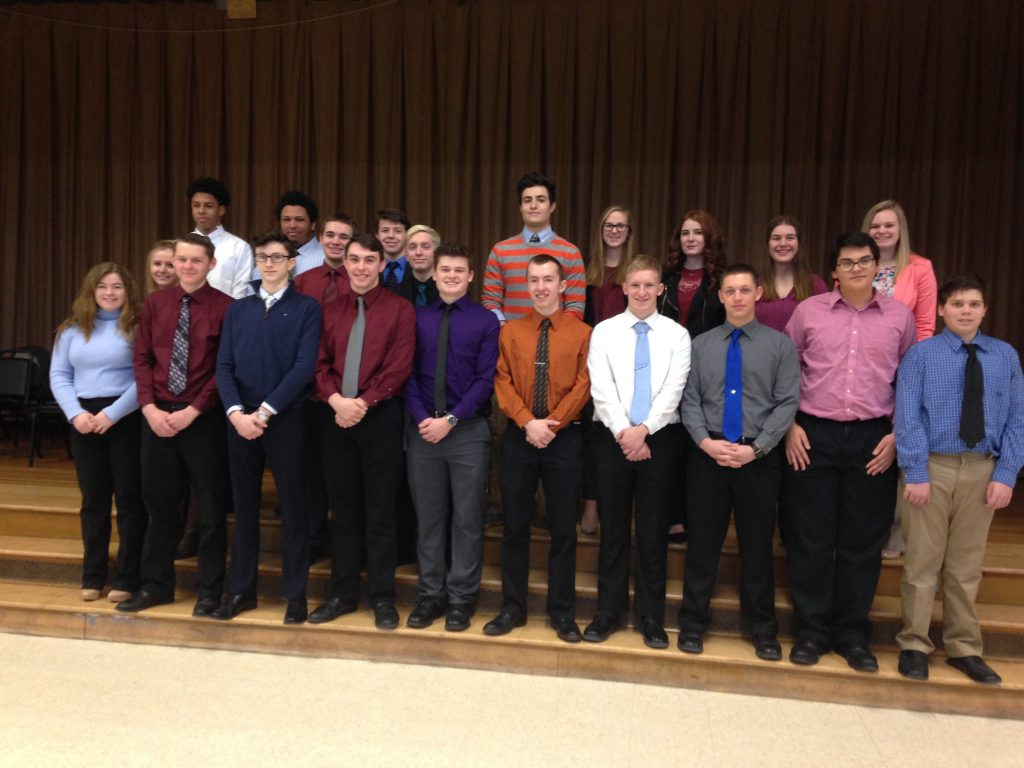 western wayne high school students participate in annual mock mock interview