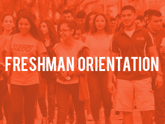 - Freshmen Orientation -