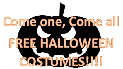 FREE HALLOWEEN COSTUMES!