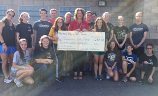 Cross Country helps donate to American Red Cross