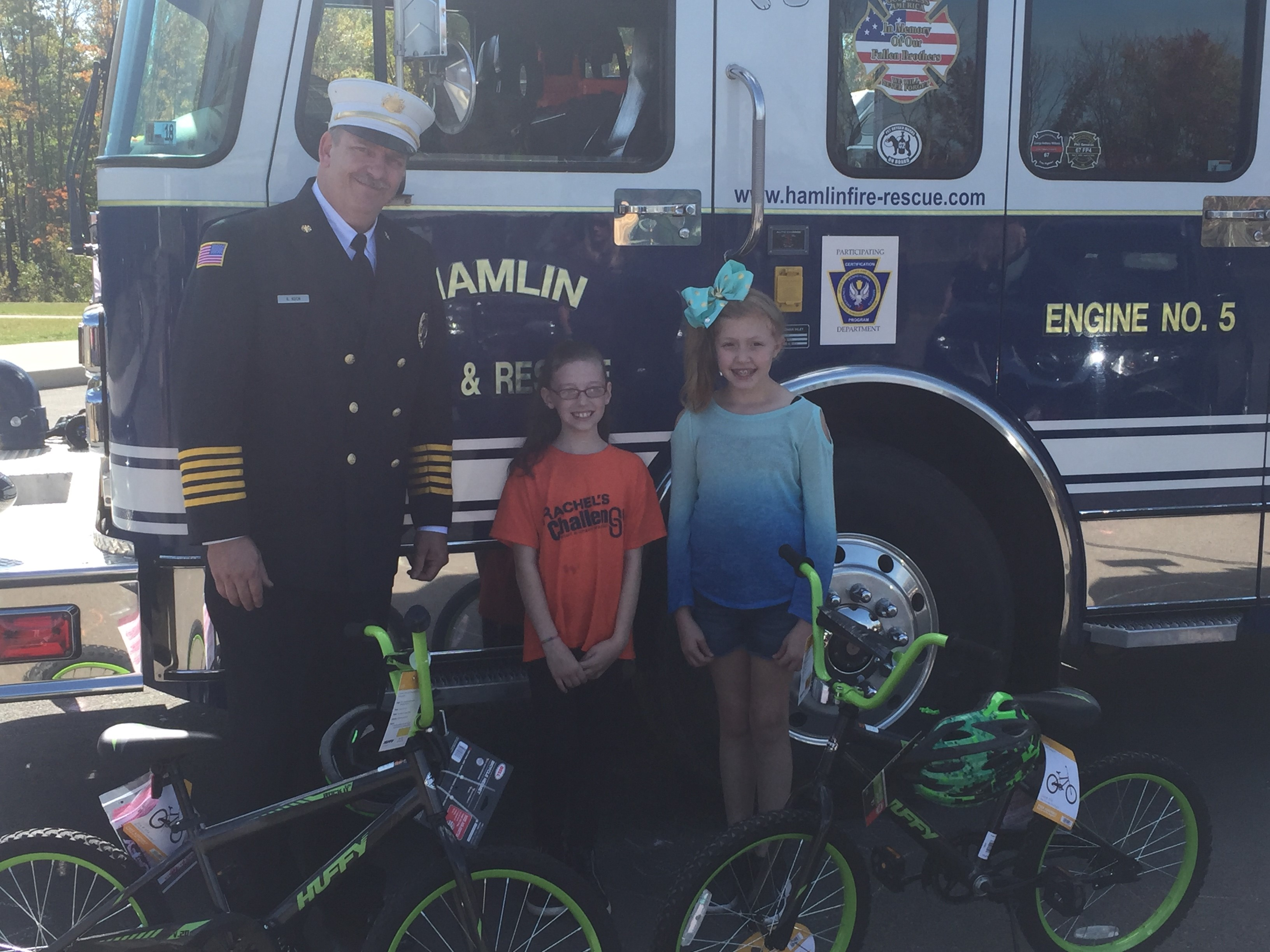 EverGreen Elementary Hosted Event for Fire Prevention Week