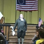 R.D. Wilson and Middle School Host Benjamin Franklin Assembly