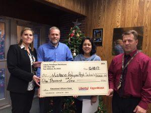 Western Wayne Receives Educational Alliance Grant