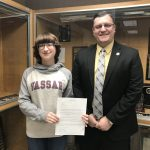 Western Wayne Senior Accepted to Vassar College