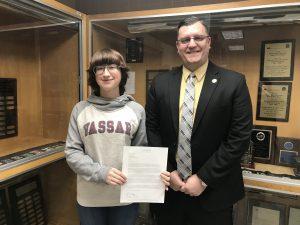 Western Wayne Senior Accepted to Vassar College