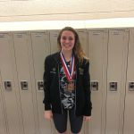 Hollister claims Bronze Medal in Swim Meet
