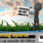Spring Sports 2018
